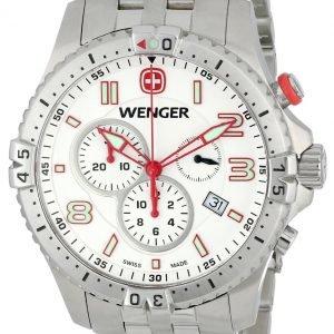 Wenger Squadron 77059 Kello Valkoinen / Teräs