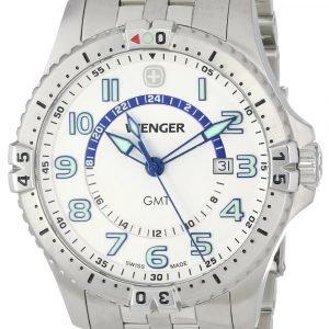 Wenger Squadron 77079 Kello Valkoinen / Teräs