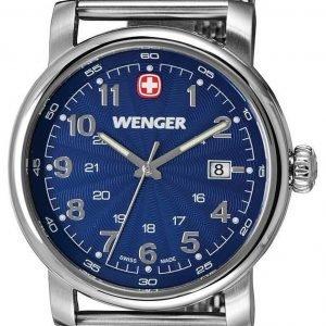 Wenger Urban Classic 1041.107 Kello Sininen / Teräs