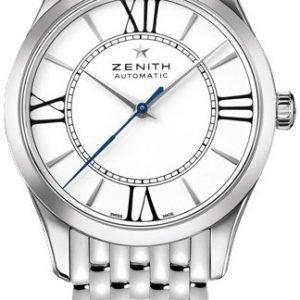 Zenith Captain 03.2310.679-38.M2310 Kello Valkoinen / Teräs