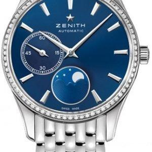 Zenith Captain 16.2310.692-51.M2310 Kello Sininen / Teräs