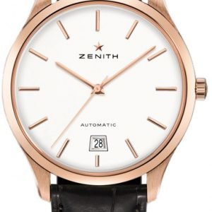 Zenith Captain 18.2020.3001-01.C498 Kello Hopea / Nahka