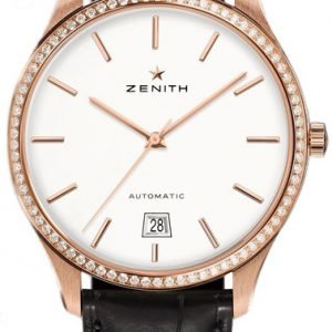 Zenith Captain 22.2020.3001-01.C498 Kello Hopea / Nahka
