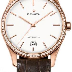 Zenith Captain 22.2310.3001-01.C498 Kello Hopea / Nahka