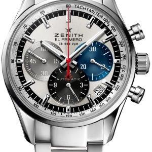 Zenith El Primero 03.2150.400-69.M2150 Kello Hopea / Teräs