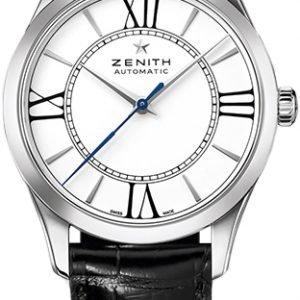 Zenith Heritage 03.2310.679-38.C714 Kello Valkoinen / Nahka